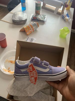 Vans 1 1/2 daughter could not fit them never worn fresh out of the box for Sale in Philadelphia, PA