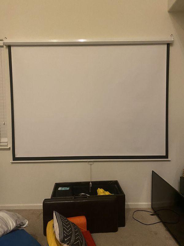 "120"" projector screen"