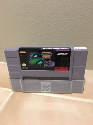 TMNT Tournament Fighters SNES for Sale in Lynnwood, WA