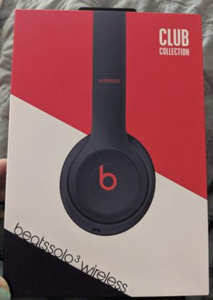 Beats solo3 wireless headphones for Sale in Pflugerville, TX