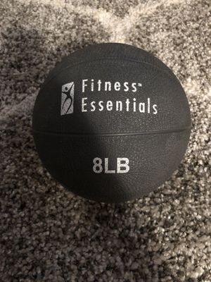 Weighted 8lb fitness ball for Sale in New York, NY