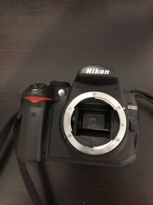 Nikon D5000 with 2 lenses for Sale in Richmond, CA