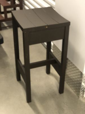 Two brown bar height stools for Sale in Alexandria, VA