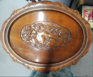 Antique Table With Carving for Sale in Pittsburgh, PA