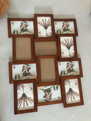 FREE picture frame. Fits 12 pictures for Sale in Santa Fe Springs, CA