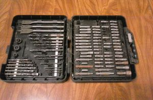 Assorted drill and screwdriver bits for Sale in Marietta, OH