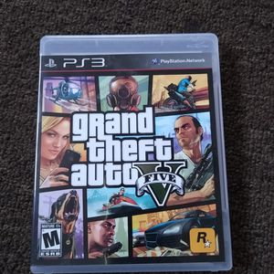 Grand Theft Auto 5 Playstation 3 for Sale in Compton, CA