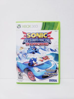 Sonic All Star Racing Transformed Xbox 360 Game for Sale in Fresno, CA