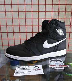 NIKE AIR JORDAN 1 RETRO YING YANG SIZE 8 US MEN SHOES EXCELLENT USED CONDITION $170 for Sale in Cleveland, OH