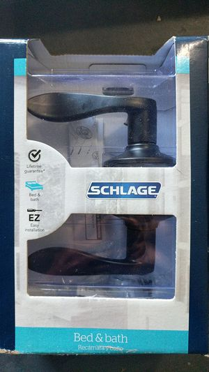 Schlage bed and bath door handle for Sale in Fort Lauderdale, FL