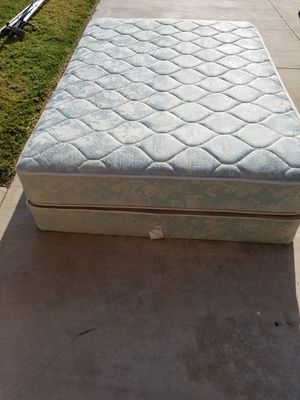Free full size mattress with frame. for Sale in Corona, CA