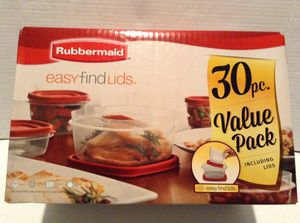 New Rubbermaid Food Storage Container Set for Sale in Hayward, CA