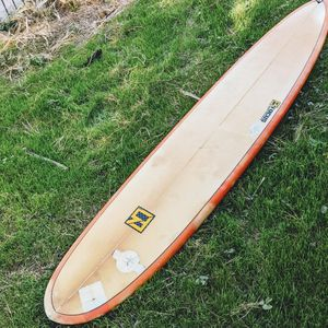 9'0 Water Tight LongBoard Fins And Leash Surfboard for Sale in Los Angeles, CA