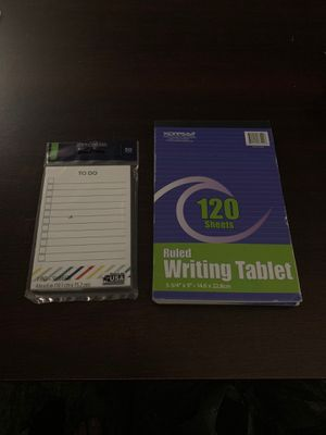 Small Writing Pads for Sale in Dallas, TX