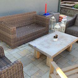 Wicker Outdoor Patio Set - Terra Outdoor for Sale in San Rafael,  CA