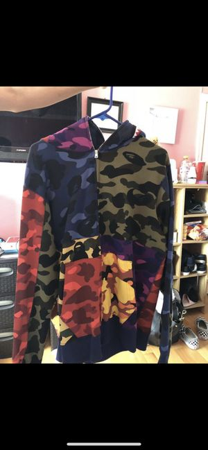 Mix Camo Shark Hoodie for Sale in Tustin, CA