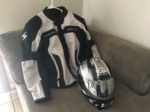 Scorpion motorcycle jacket and helmet for Sale in Phoenix, AZ