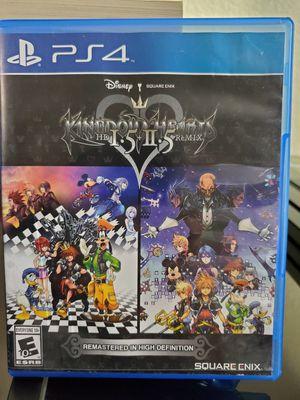 Kingdom Hearts 1.5 and 2.5 (PS4) for Sale in El Cajon, CA