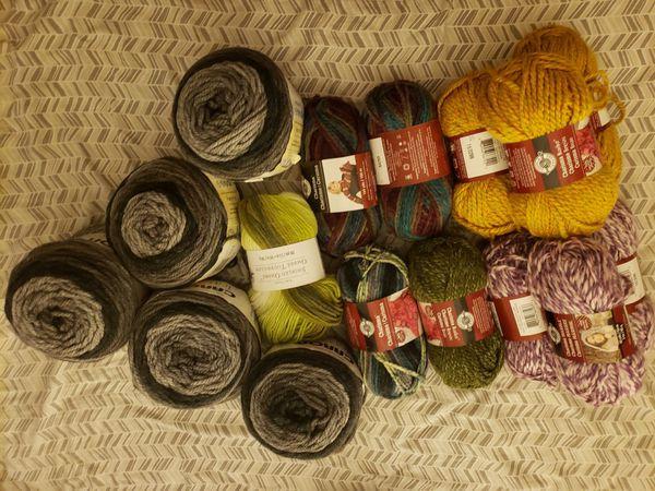 Plethora of yarn