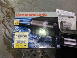 Marineland penguin bio wheel aquarium power filter fish tank for Sale in Miami, FL