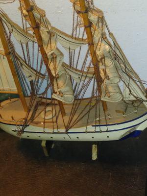 Miniature Wooden Sailboat for Sale in San Antonio, TX