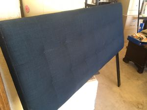 Pottery barn full size bed and frame for Sale in Apple Valley, CA