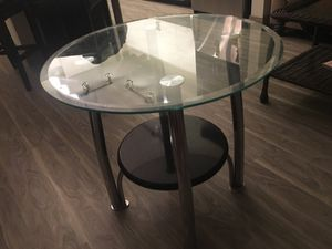 Glass side table/nightstand for Sale in Tempe, AZ