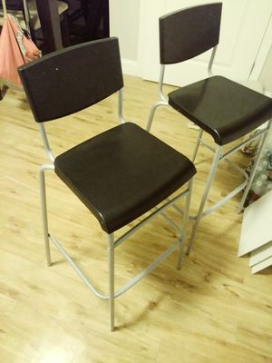 2 bar height stools (29 inches) $50 for Sale in Everett, MA