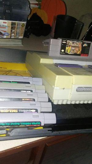 Super Nintendo bundle for Sale in Los Angeles, CA