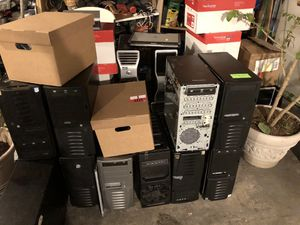 Old computer parts and towers for Sale in Portland, OR