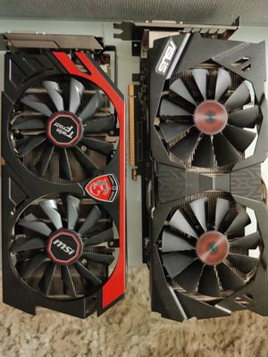 Strix Gtx 970 and msi gtx 760 for Sale in Irvine, CA