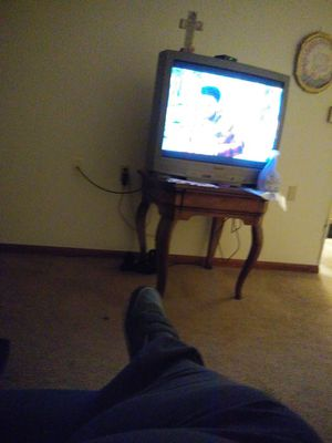 45 inch tv not flat screen work greatwith remote for Sale in Waynesville, MO