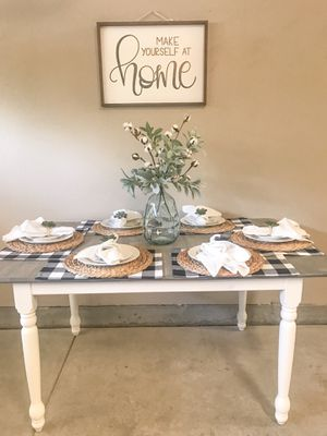 Farmhouse dining table for Sale in Fresno, CA