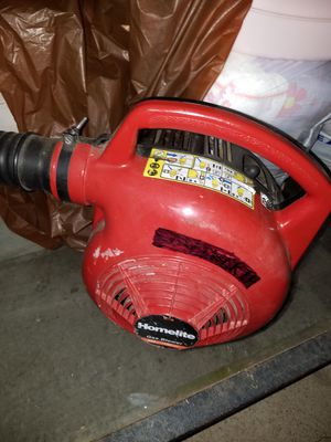 Homelite GAS leaf blower works well, start right up for Sale in Falls Church, VA