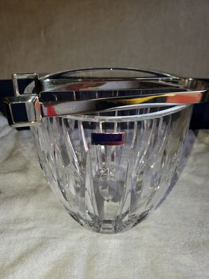 New Waterford Crystal Ice Bucket & Tongs & 80 more items posted here for Sale in Kirkland, WA
