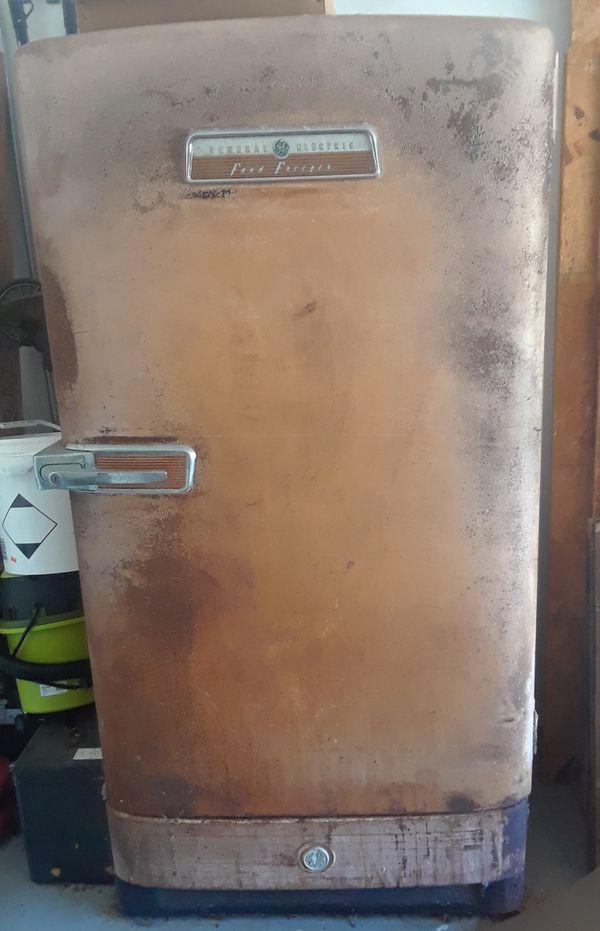 Vintage GE Food Freezer 1950s Restore/Rescue!