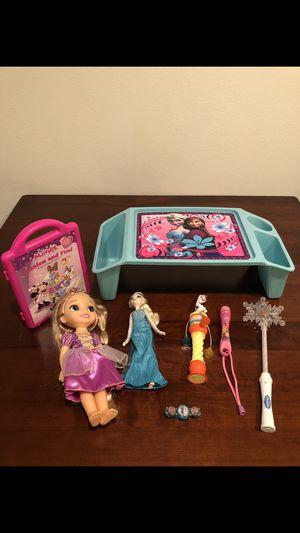 Disney Items Frozen, Rapunzel, Minnie for Sale in Orlando, FL