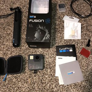 Go Pro 360 Fusion - Waterproof with Overcapture for Sale in Ashburn, VA