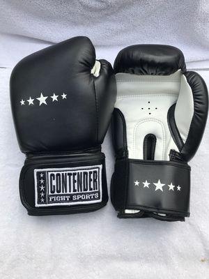 Black 14oz Top Contender pro boxing gloves for Sale in Montebello, CA