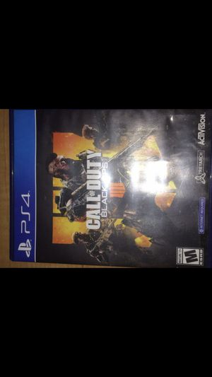 PS4 Call of duty black ops 4 for Sale in Tampa, FL