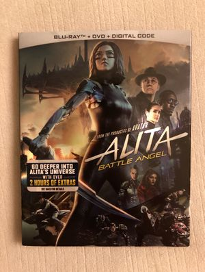 Alita: Battle Angel Blu-ray+DVD+Digital brand new sealed!! for Sale in Whittier, CA