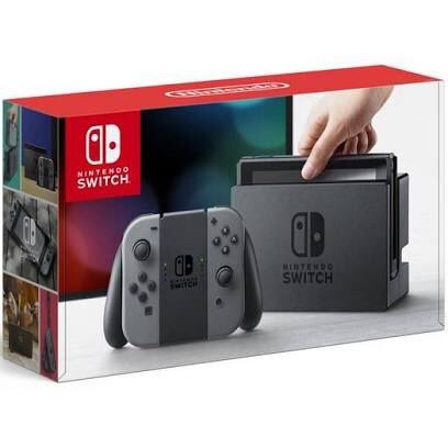 Nintendo Switch with Dock and 2 joycons and all Cables