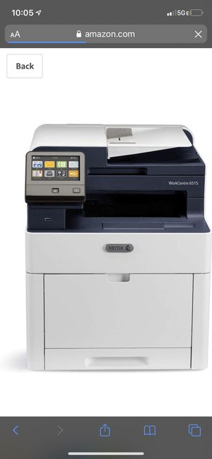 Xerox WorkCentre 6515/DNI Color Multifunction Printer, for Sale in Lemont, IL