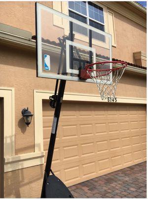 "New!! Basketball hoop, professional basketball hoop, professional basketball hoop w 54"" polycarbonate backboard for Sale in Phoenix, AZ"