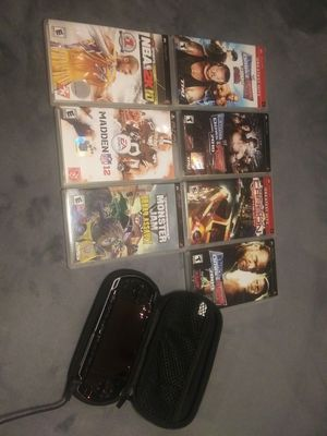 PSP W/7 games very nice for Sale in Marysville, WA