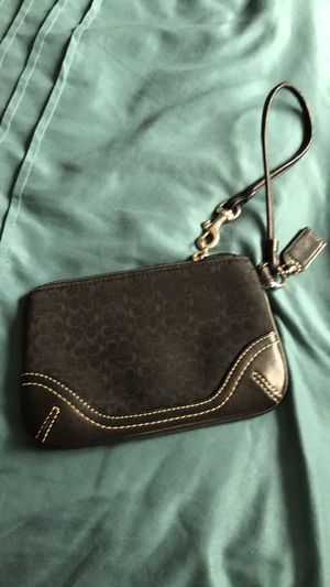 Coach black wristlet for Sale in Fort Washington, MD
