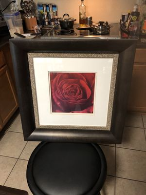 Rad Rose Picture Frame for Sale in Phoenix, AZ