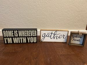 Home decor signs for Sale in Snohomish, WA