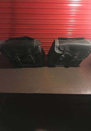 Leather saddle bags for Sale in Benicia, CA