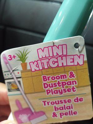 Mini Broom & Dustpan perfect gift for Christmas for Sale in Hemet, CA